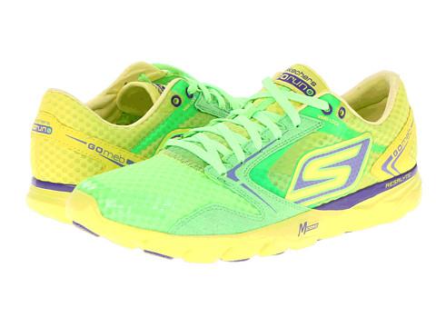 Adidasi SKECHERS - GO Run - Speed - Grey/Lime