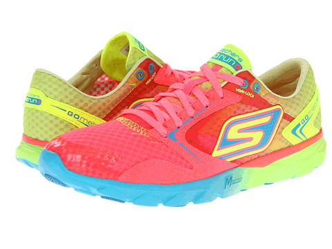 Adidasi SKECHERS - GO Run - Speed - Hot Pink/Lime
