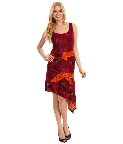 Rochii Christin Michaels - May Dress - Red/Multi