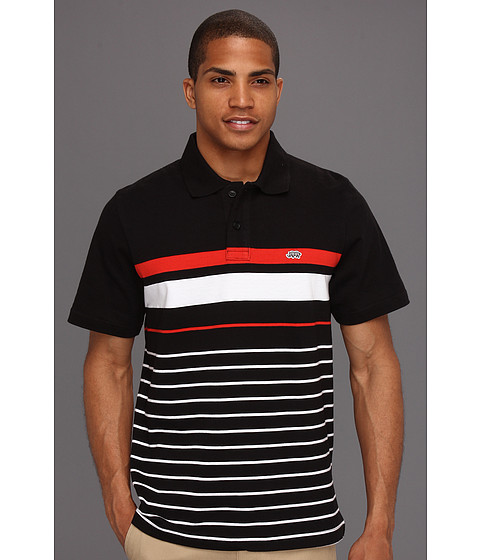 Camasi ECKO - Clearwater S/S Polo - Black