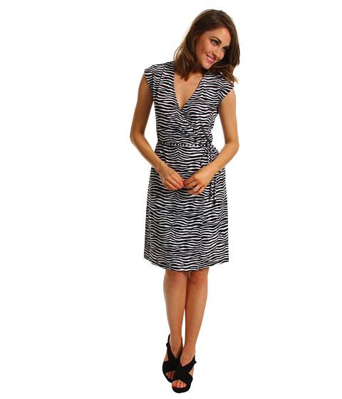Rochii Michael Kors - Mini Roxy Sleeveless Wrap Dress - Black
