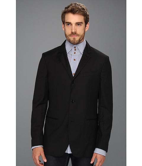 Jachete John Varvatos - 2 to 4 Button Convertible Soft Jacket - Black