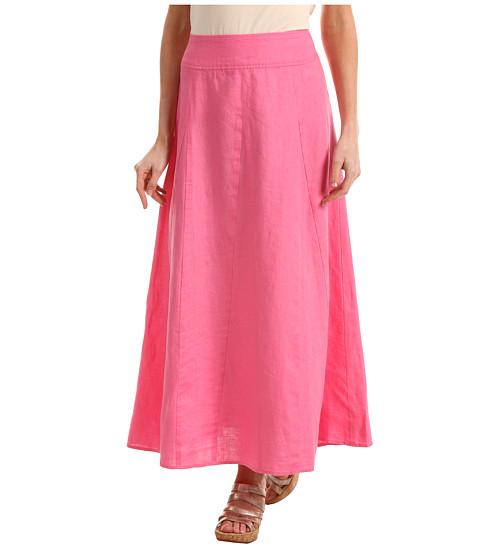 Fuste Jones New York - Godet Linen Maxi Skirt - Petunia
