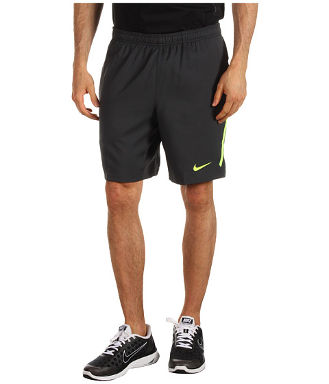 "Pantaloni Nike - Power 9"" Woven Short - Anthracite/Volt/Cool Grey"