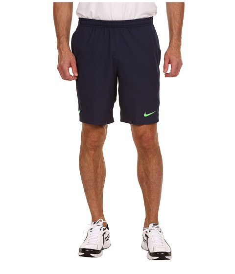 "Pantaloni Nike - Power 9"" Woven Short - Midnight Navy/Poison Green/Poison Green"