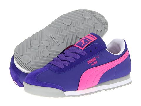 Adidasi PUMA - Roma L NBK 2 Wn\s - Liberty Blue/Fluo Pink/White
