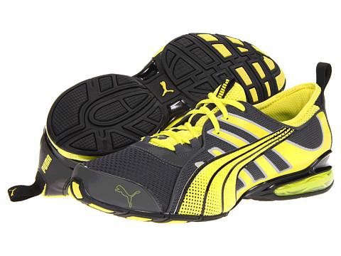 Adidasi PUMA - Voltaic 4 M - Dark Shadow/Fluo Yellow