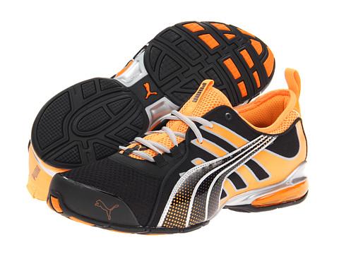 Adidasi PUMA - Voltaic 4 M - Black/Fluo Orange