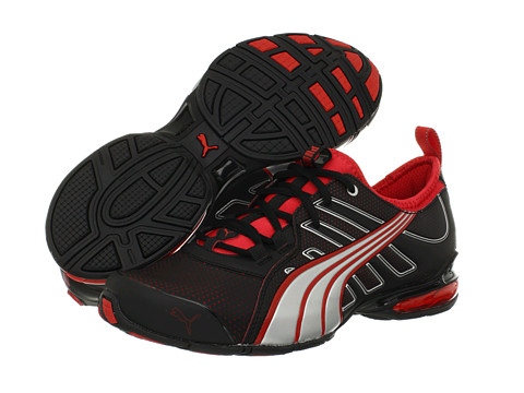 Adidasi PUMA - Voltaic 4 M - Black/Flame Scarlet