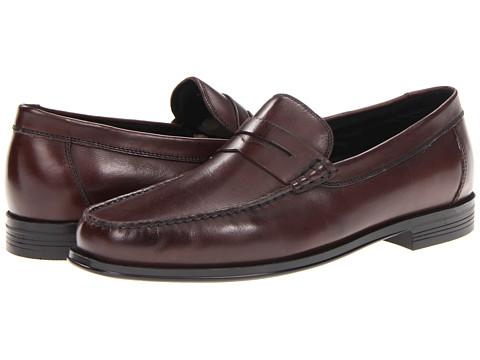 Pantofi Florsheim - Croquet Penny - Burgundy Smooth Leather