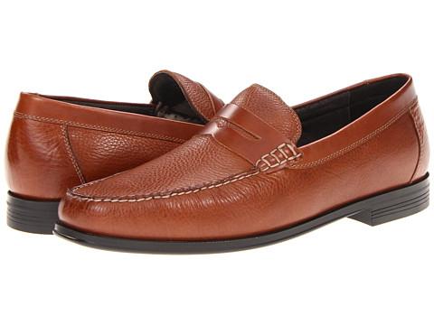 Pantofi Florsheim - Croquet Penny - Cognac Milled Leather