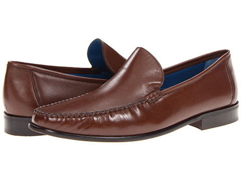 Pantofi Florsheim - Sarasota Venetian - Cognac Smooth Leather