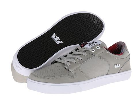 Adidasi Supra - Vaider LC - Grey Nubuck/White