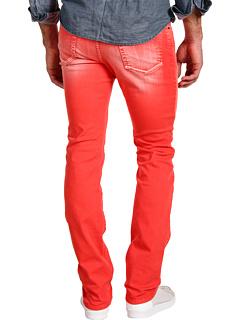 Blugi Versace Trend Fit Colored Denim Red   mycloset.ro