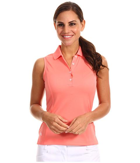 Bluze adidas - ClimaLiteî Sleeveless Solid Polo \13 - Watermelon