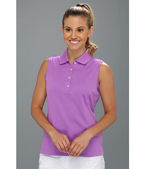 Bluze adidas - ClimaLiteî Sleeveless Solid Polo \13 - Grape/White