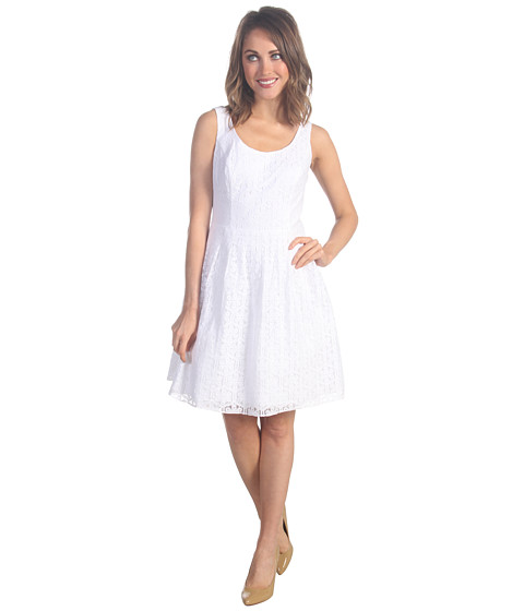 Rochii elegante: Rochie Lilly Pulitzer - Posey Dress - Resort White Daisy Lane
