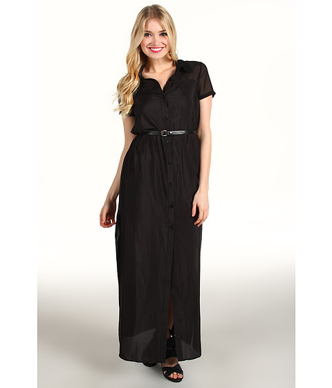 Rochii elegante: Rochie BCBGeneration - Slit Maxi Dress QEY6T806 - Black