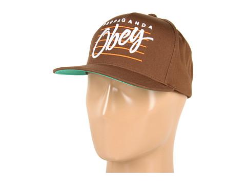 Sepci Obey - Sidelines Snapback Hat - Brown