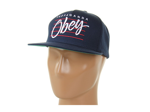Sepci Obey - Sidelines Snapback Hat - Dark Navy
