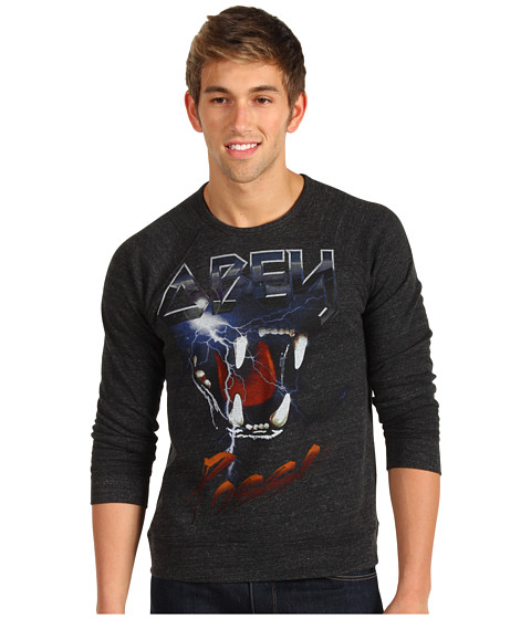 Bluze Obey - Lightning Tour Fleece - Heather Onyx