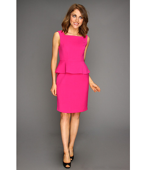 Rochii elegante: Rochie Anne Klein New York - Peplum Sheath Dress - Peony