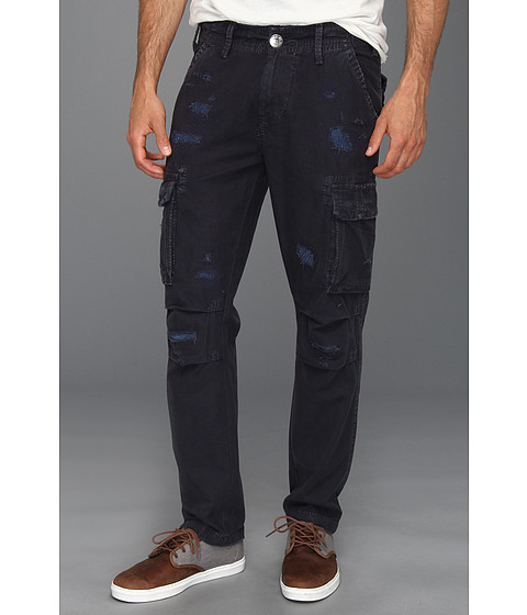 Blugi True Religion - Anthony Slim Twill Cargo Pant in Dark Navy - Dark Navy