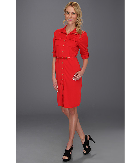Rochii elegante: Rochie Anne Klein New York - Utility Dress - Red