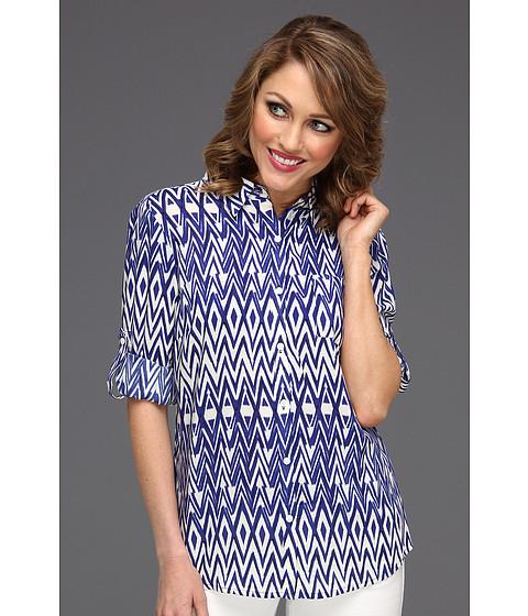 Tricouri Jones New York - Roll Sleeve One Pocket Slim Shirt - Dark Blue