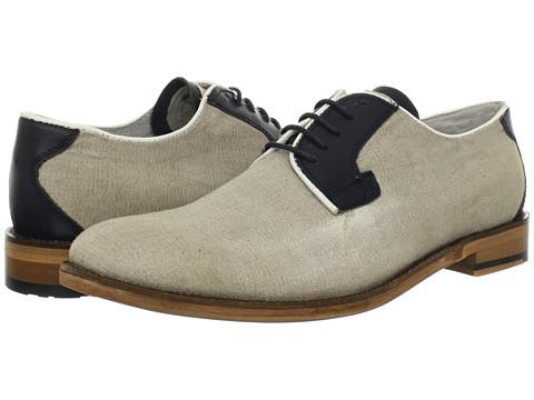 Pantofi Ben Sherman - Alto Postman Derby - Beige/Navy