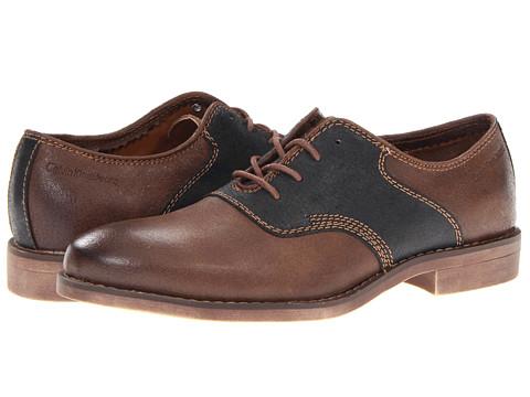 Pantofi Calvin Klein - Oris - Dark Brown/Black Leather