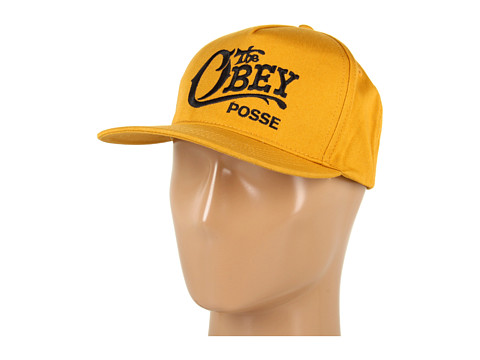 Sepci Obey - Quality Delivery Snapback Hat - Mustard
