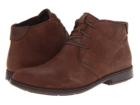 Ghete Camper - 1913 - 36518 Chukka Boot - Nubuck Dark Brown Leather