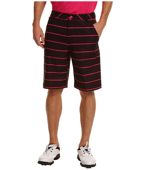 Pantaloni PUMA - New Wave Stripe Walkshort/Boardshort Hybrid \13 - Black/Cabaret Stripe