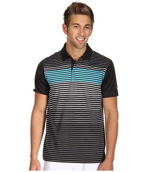 Tricouri PUMA - Engineered Stripe Tech Sleeve Logo Polo \13 - Black/White