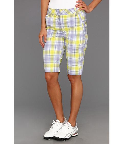 Pantaloni PUMA - Golf Plaid Tech Short \13 - Persian Violet