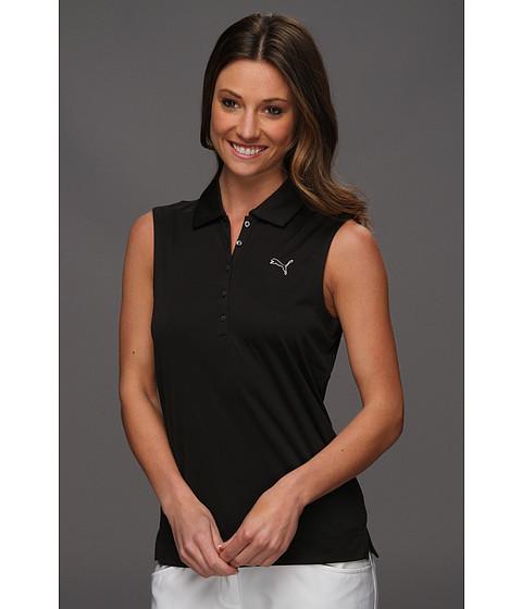 Tricouri PUMA - Solid Sleeveless Polo \13 - Black