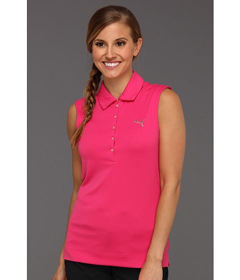 Tricouri PUMA - Solid Sleeveless Polo \13 - Caberet