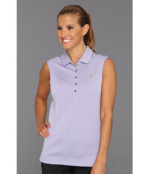 Tricouri PUMA - Solid Sleeveless Polo \13 - Persian Violet