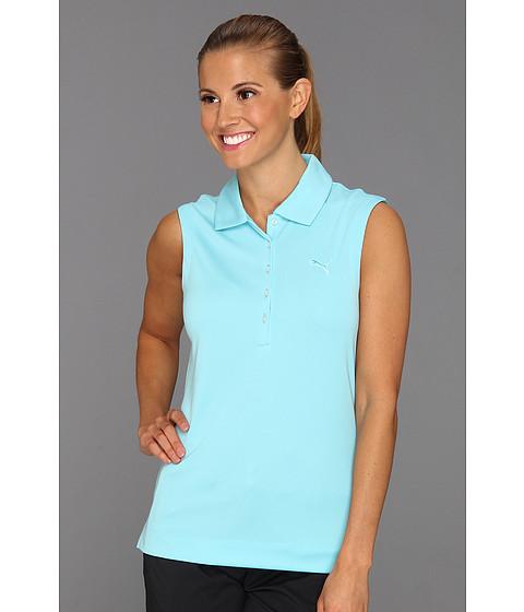 Tricouri PUMA - Solid Sleeveless Polo \13 - Capri