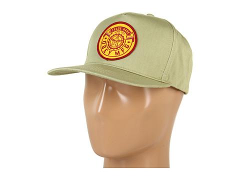 Sepci Obey - Obey Trademark Snapback Hat - Grey Green