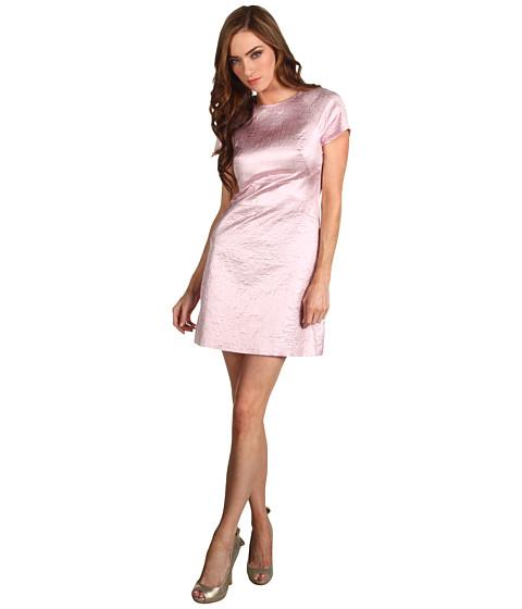 Rochii Tibi - Paneled Dress - Pale Pink Multi