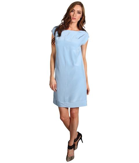 Rochii Tibi - Sleeveless Paneled Dress - Baby Blue