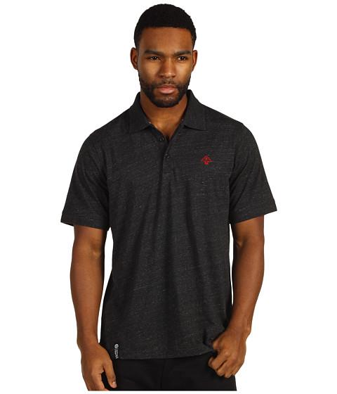 Tricouri L-R-G - Core Collection Solid Polo - Black Heather