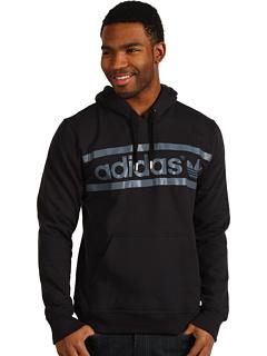 Bluze Adidas Originals Heritage Logo Hoodie Black/Tech Grey/Tech Grey | mycloset.ro