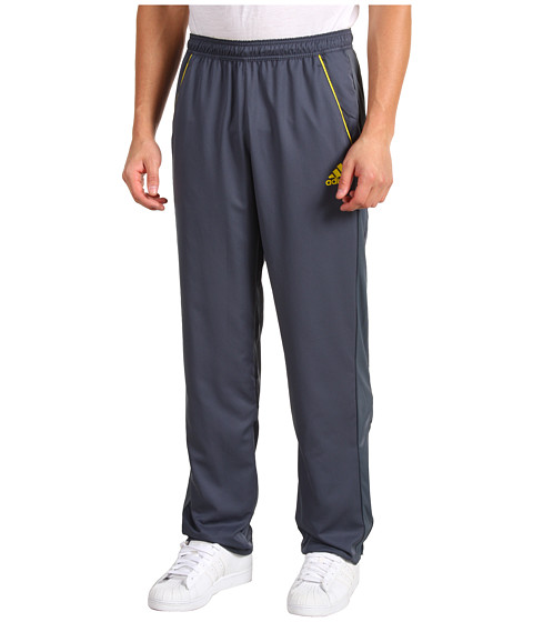 Pantaloni adidas - adipowerâ⢠barricade Warm-Up Pant - Dark Onix/Vivid Yellow