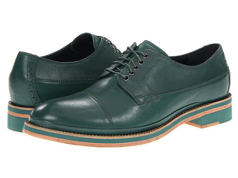 Pantofi Cole Haan - South ST Cap Oxford - Botanical/Cuoio