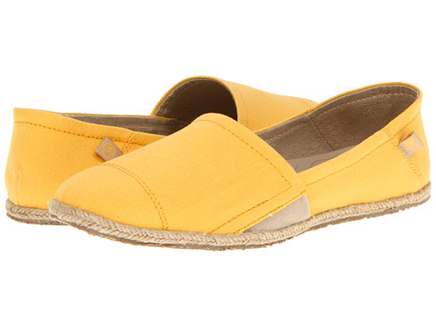 Balerini Crocs - Espadrilla Slip-On - Mellow Yellow/Gold