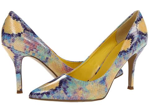 Pantofi Nine West - Flax - Yellow Combo