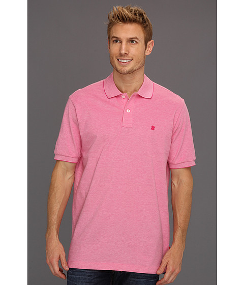 Tricouri IZOD - Short Sleeve Oxford Pique Polo Shirt - Fuchsia Purple